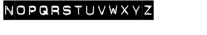 FF Dynamoe Regular Font UPPERCASE