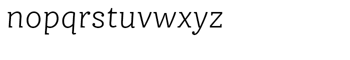 FF Ernestine Light Italic Font LOWERCASE