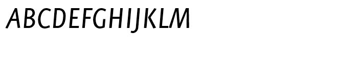 FF Eureka Sans Regular Italic Font UPPERCASE