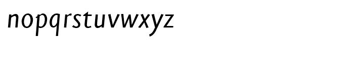 FF Eureka Sans Regular Italic Font LOWERCASE