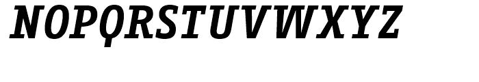 FF Fago Correspondence Serif Bold Italic Font UPPERCASE