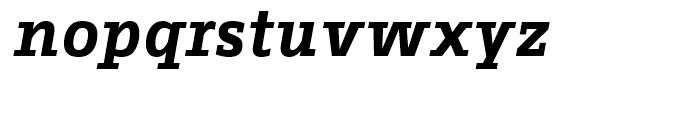 FF Fago Correspondence Serif Bold Italic Font LOWERCASE