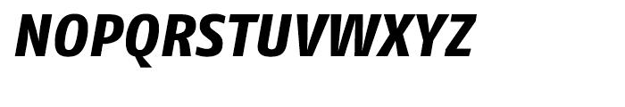 FF Fago Extra Bold Italic Font UPPERCASE