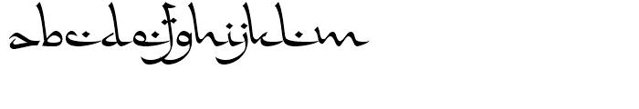 FF Falafel Regular Font LOWERCASE