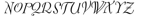 FF Fontesque Regular Italic Font UPPERCASE