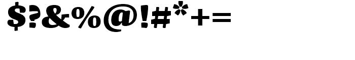 FF Franziska Black Font OTHER CHARS