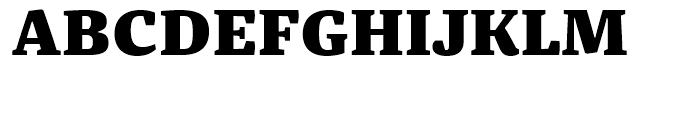 FF Franziska Black Font UPPERCASE