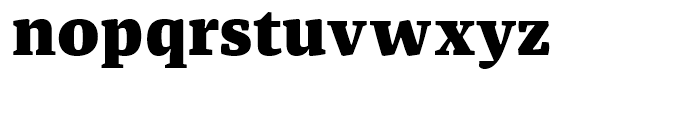 FF Franziska Black Font LOWERCASE
