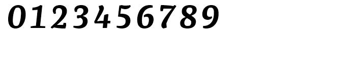 FF Franziska Demi Bold Italic Font OTHER CHARS