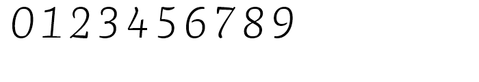 FF Franziska Light Italic Font OTHER CHARS