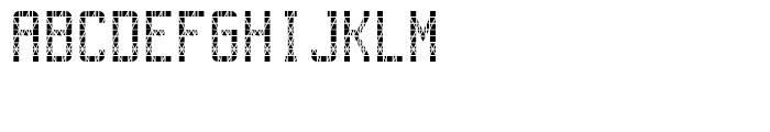 FF Gateway A One Regular Font UPPERCASE