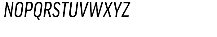 FF Good Condensed News Italic Font UPPERCASE