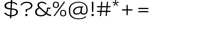 FF Good Extended Light Font OTHER CHARS