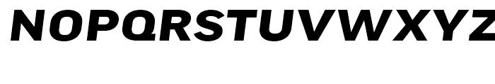 FF Good Headline Extended Bold Italic Font UPPERCASE
