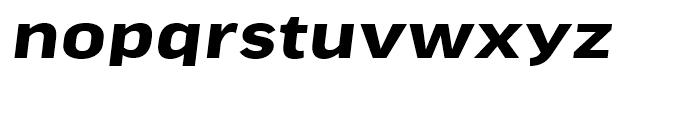 FF Good Headline Extended Bold Italic Font LOWERCASE