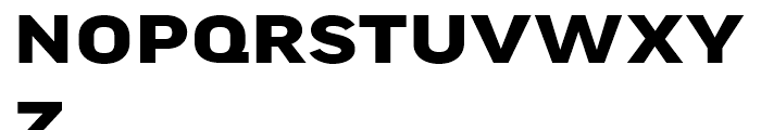 FF Good Headline Extended Bold Font UPPERCASE