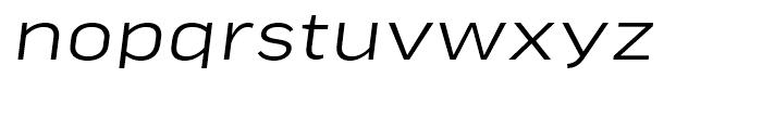 FF Good Headline Extended Light Italic Font LOWERCASE