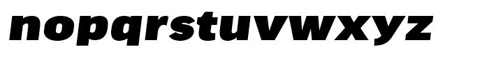 FF Good Headline Extended Ultra Italic Font LOWERCASE