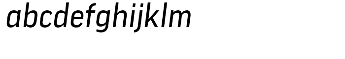 FF Good News Italic Font LOWERCASE