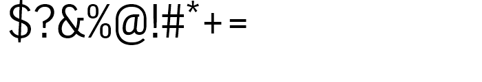 FF Good Regular Font OTHER CHARS