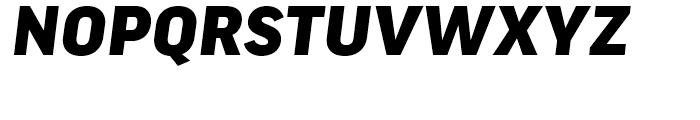 FF Good Wide Black Italic Font UPPERCASE