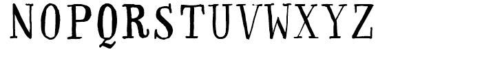FF Handwriter Regular Font UPPERCASE