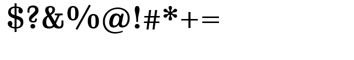 FF Hertz Medium Font OTHER CHARS