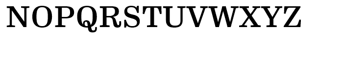 FF Hertz Medium Font UPPERCASE