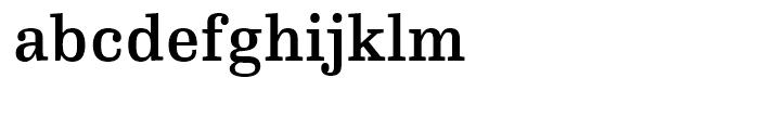 FF Hertz Medium Font LOWERCASE