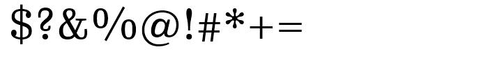 FF Hertz Regular Font OTHER CHARS