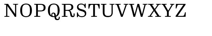 FF Hertz Regular Font UPPERCASE