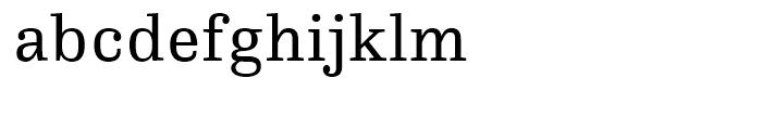 FF Hertz Regular Font LOWERCASE