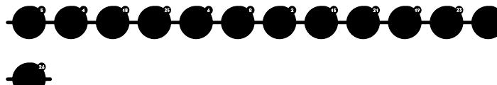 FF Identification Three F Regular Font LOWERCASE