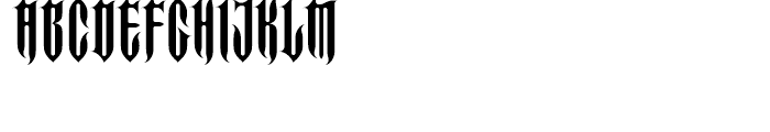 FF Imperial Spike Regular Font LOWERCASE