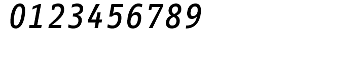 FF Info Correspondence Medium Italic Font OTHER CHARS