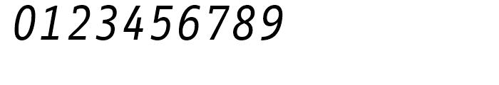 FF Info Correspondence Regular Italic Font OTHER CHARS