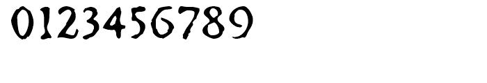 FF Irregular Caps Regular Font OTHER CHARS