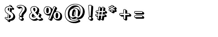 FF Jackie Block Regular Font OTHER CHARS