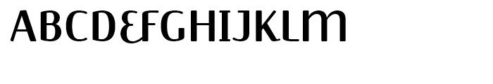 FF Jackie Regular Font UPPERCASE