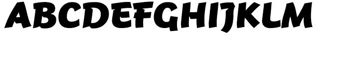 FF Jambono Black Font UPPERCASE