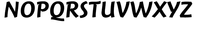 FF Jambono Medium Font UPPERCASE