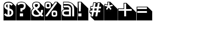 FF Jigger Angled Regular Font OTHER CHARS