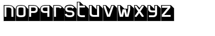 FF Jigger Angled Regular Font LOWERCASE