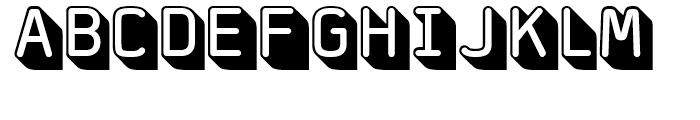 FF Jigger Rounded Regular Font UPPERCASE