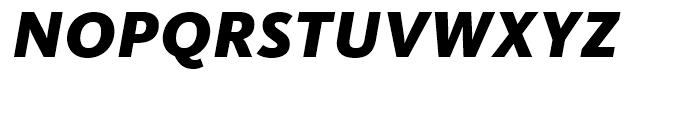 FF Kievit Black Italic Font UPPERCASE