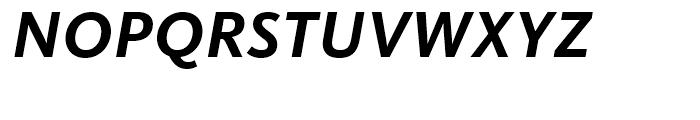 FF Kievit Bold Italic Font UPPERCASE