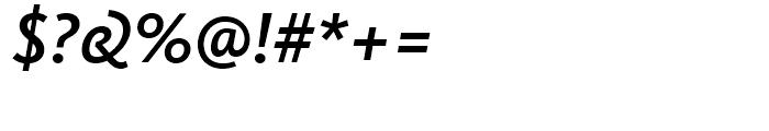 FF Kievit Medium Italic Font OTHER CHARS