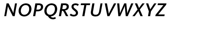 FF Kievit Medium Italic Font UPPERCASE