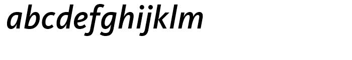 FF Kievit Medium Italic Font LOWERCASE