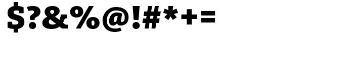 FF Kievit Slab Black Font OTHER CHARS